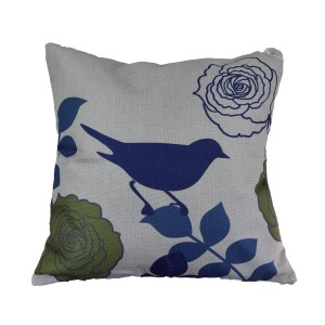 Bird Leaf Cushion