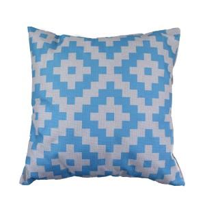 Blue Square cusion