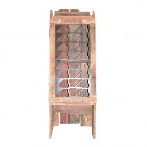Cabinet Rustic Iron Door