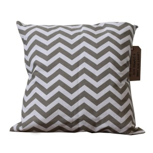 Diagonal print cushion