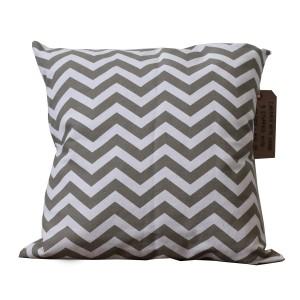 Diagonal print cushion