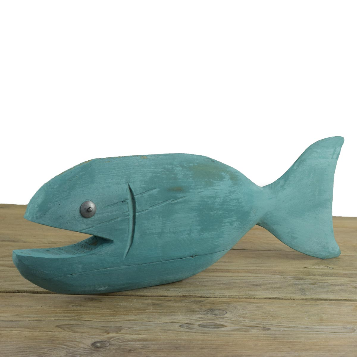 Reclaimed wood chalk paint fish for How to paint a fish