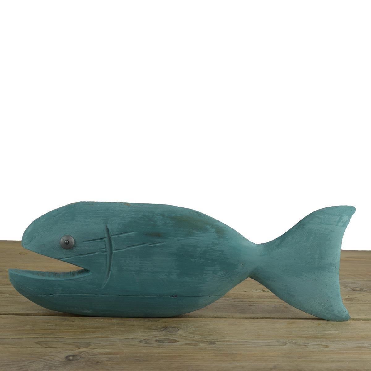 Reclaimed Wood Chalk Paint Fish