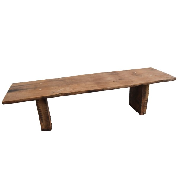 Handmade Reclaimed Wood Bench Coffee Table - All Things Cornish