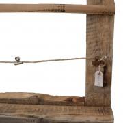 wooden memory photo board